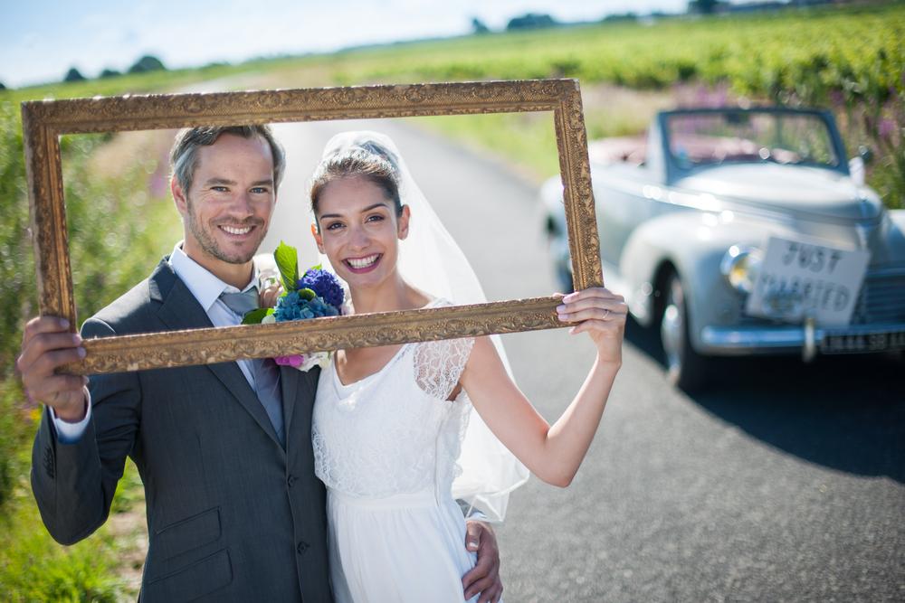Trendi esküvői fotó