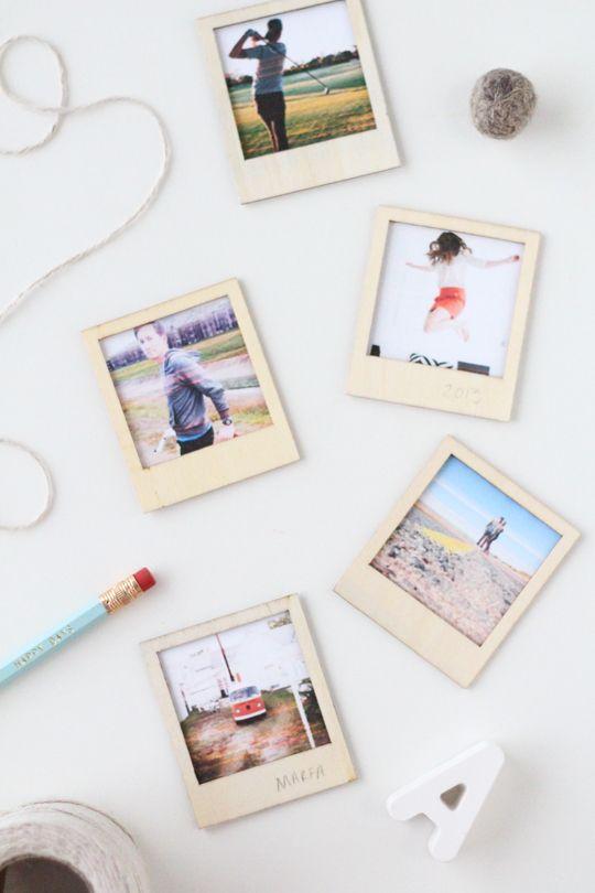 Polaroid keretek házilag.