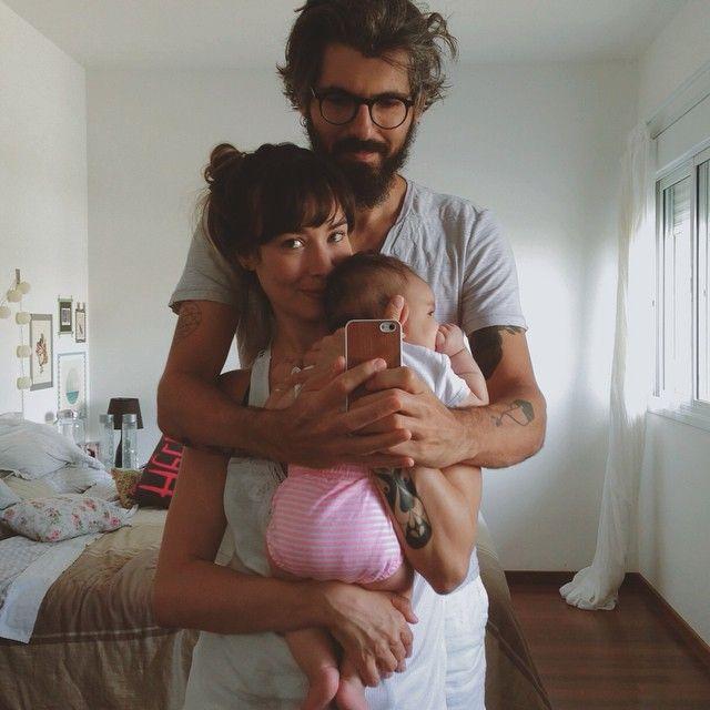 Hétvégi családi selfie.
