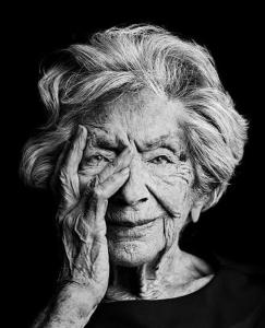 Ata Kandó időskori arcképe
